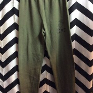 MILITARY USMC SWEATPANTS ELASTIC WAIST 1