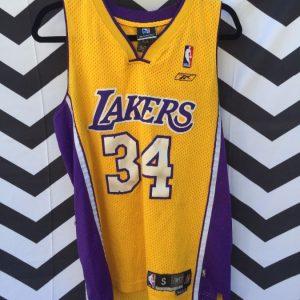 NBA Los Angeles Lakers #34 Shaq Oneal 1