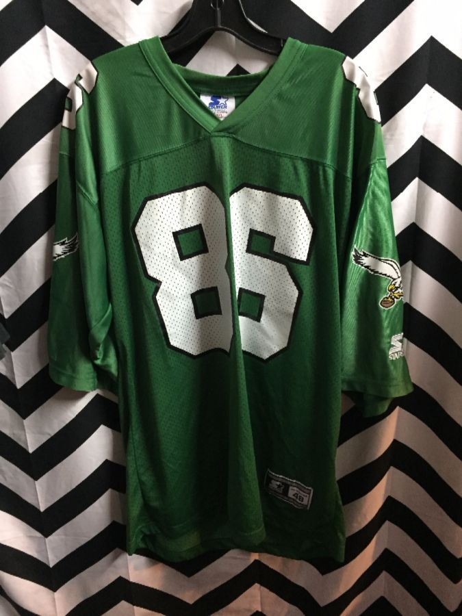 quality design 9ab71 11e5e STARTER FOOTBALL JERSEY, PHILADELPHIA EAGLES #86 FRED BARNETT, NFL