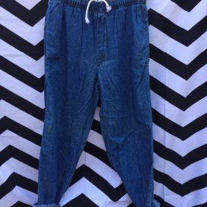 ASST DEADSTOCK DENIM PANTS ELASTIC WAIST 1