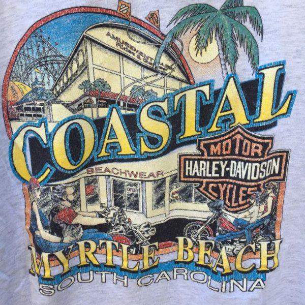 VINTAGE HARLEY DAVIDSON COASTAL MYRTLE BEACH 1993 3