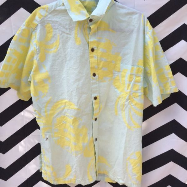 SS BD 80S PRINTED COTTON SHIRT HASH TAG GRAPHIC 1