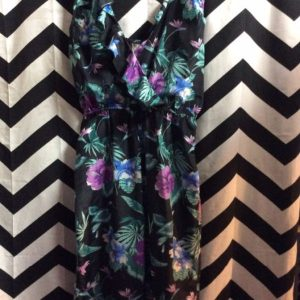 Jumpsuit Hawaiian Print Sleeveless 11-118 1
