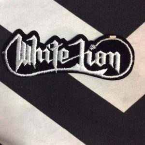 PATCH- WHITE LION *OLD STOCK* 1
