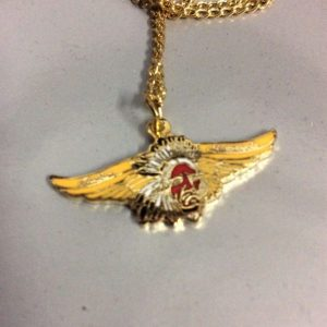 Necklace Indian Motorcycle Emblem Charm *deadstock* 1