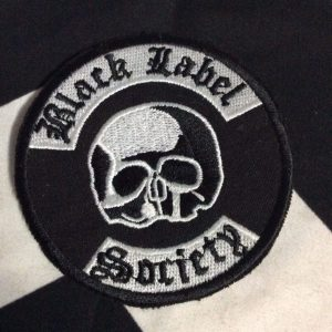 BW PATCH- BLACK LABEL SOCIETY CIRCLE 1
