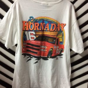 Ron Hornday Jr. #16 Racing T-Shirt 1