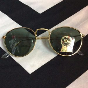 RETRO THIN GOLD FRAME SUNGLASSES *DEADSTOCK 1