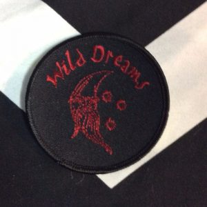 BW Patch- Wild Dreams Black/Red Patch PM-67 1