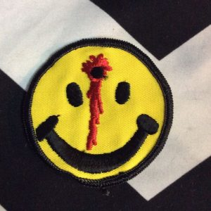 BW Patch- SMILEY FACE BULLET HOLE Patch 1040 *old stock 1