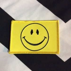 BW Patch- Smile Smiley Face Rectangle Patch PM-502 1