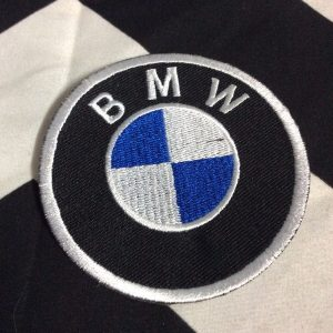 BMW EMBLEM - CIRCLE PATCH 1