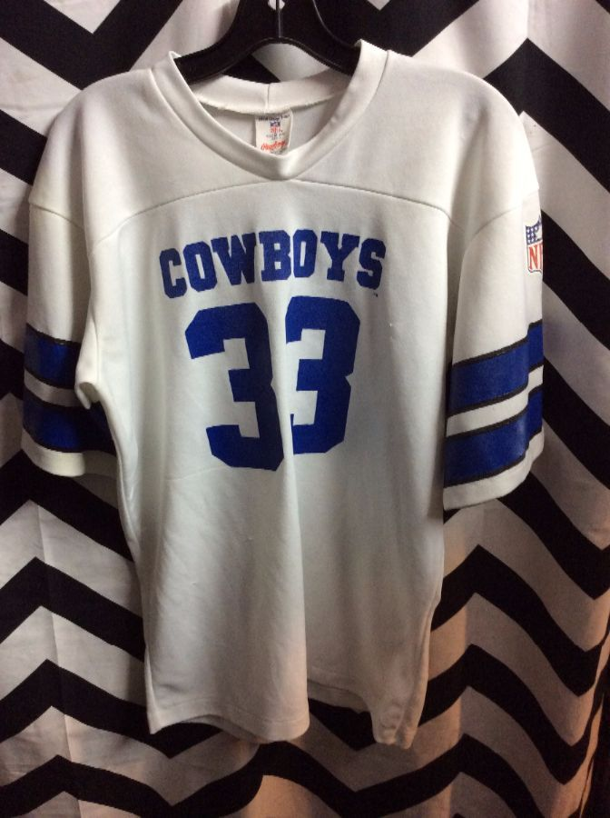 huge selection of 71d72 9a2e8 RETRO RAWLINGS FOOTBALL JERSEY - DALLAS COWBOYS - #33 - NFL