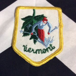 PATCH- SKI VERMONT *OLD STOCK* 1