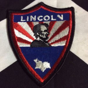 PATCH- LINCOLN SIDE PROFILE *OLD STOCK* 1
