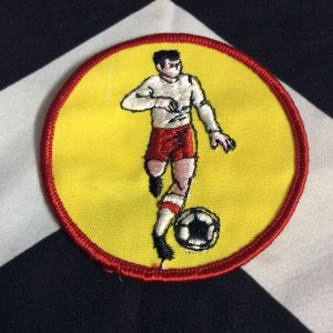 PATCH- SOCCER PLAYER *OLD STOCK* 1