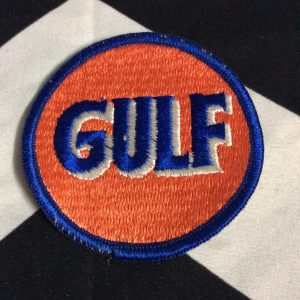 BW Patch GULF Gasoline Logo 1