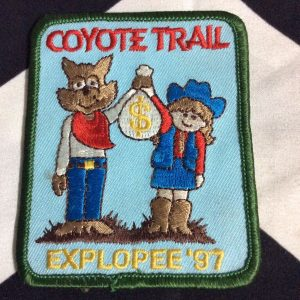 PATCH- COYOTE TRAIL *OLD STOCK* 1