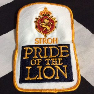 PATCH- STROH PRIDE OF LION 1