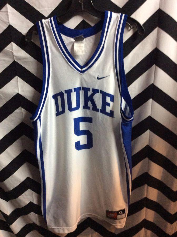 aadac2e3df2 NIKE BASKETBALL JERSEY - DUKE BLUE DEVILS - #5 - NCAA » Boardwalk ...