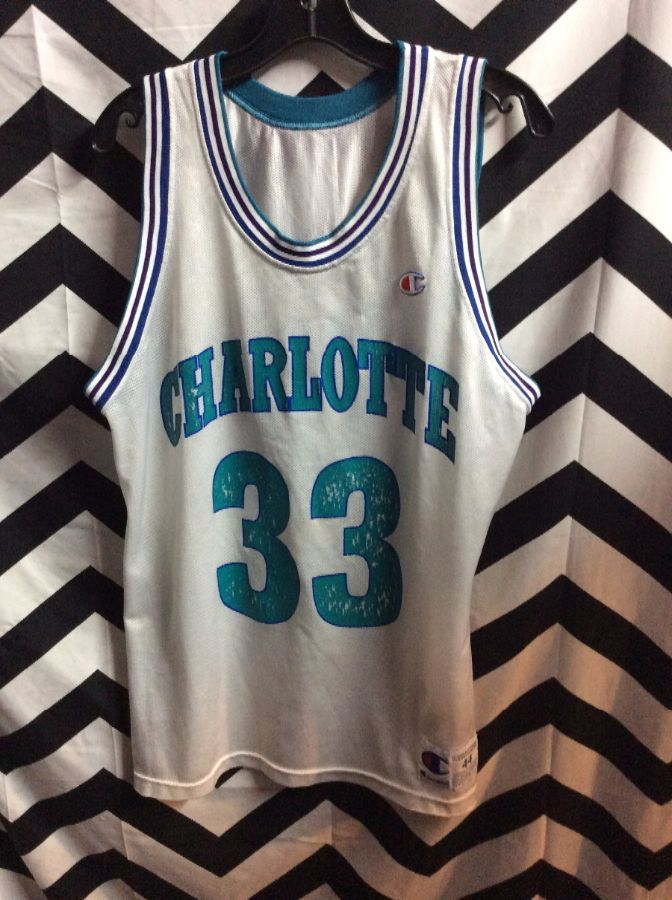 NBA Charolette Hornets jersey #33 Mourning 1