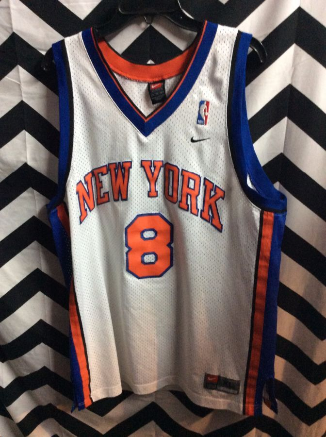 new product 15813 2abd7 NIKE BASKETBALL JERSEY – NEW YORK KNICKS – SPREWELL #8 – NBA