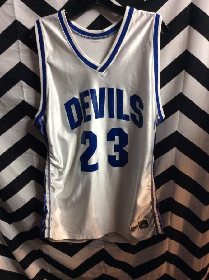 quality design d82f0 351a6 RETRO BASKETBALL JERSEY - DUKE BLUE DEVILS - SHELDEN WILLIAMS #23 - NCAA