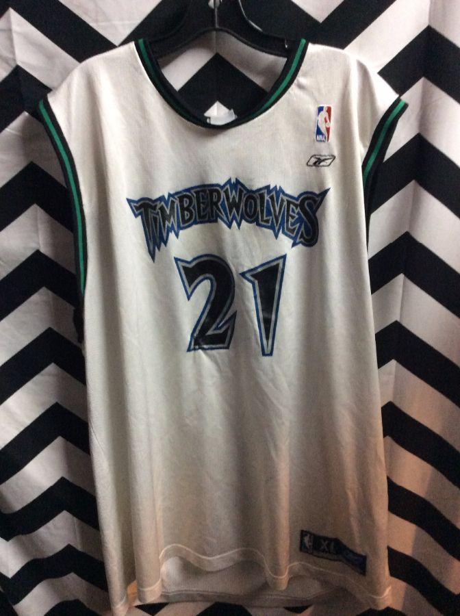 NBA Minnesota Timberwolves jersey #21 garnett KG 1