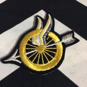 WHEEL & WINGS PATCH - OLD STOCK 1