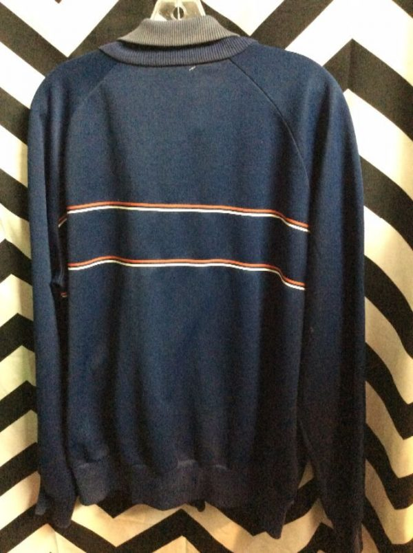 RETRO ADIDAS TRACK JACKET FRONT STRIPE as-is 2