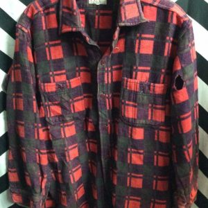 LS BD HEAVY FLANNEL SHIRT as-is 1