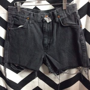 CUT OFF DENIM SHORTS WRANGLER #PERFECT 1