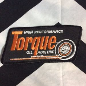 *Deadstock High Performance Torque Oil Large Patch *old stock 1