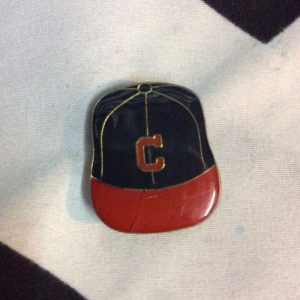BW PIN - Retro Chicago Cubs Logo Vintage CAP 1
