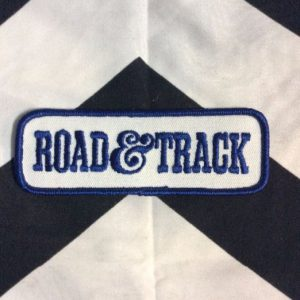 *Deadstock Road & Track Patch Blue & White Patch *old stock 1