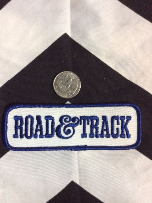 *Deadstock Road & Track Patch Blue & White Patch *old stock 2