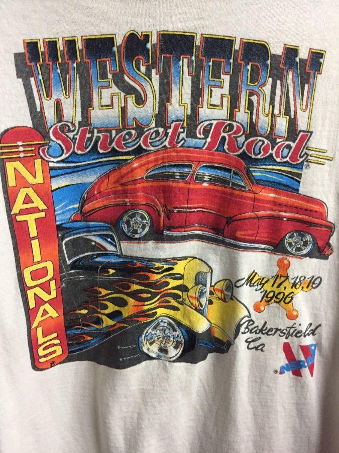 TSHIRT WESTERN NATIONALS STREET ROD CAR SHOW Boardwalk Vintage - Car show t shirts