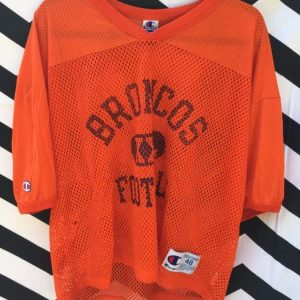 CROPPED MESH PRACTICE JERSEY BRONCOS FOOTBALL 1