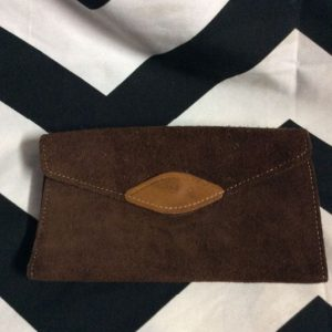 LITTLE RETRO SUEDE WALLET MULTI POCKET 1