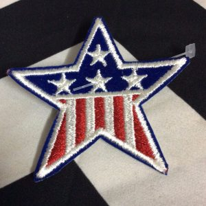Patch American Flag Star Patch *old stock 1