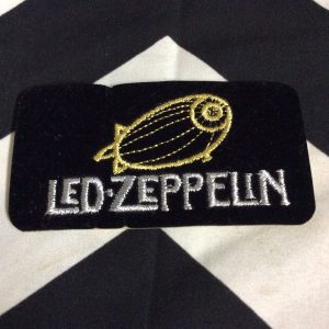 BW PATCH Led Zeppelin Flying Ballon Black Felt 1