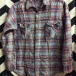 LITTLE RETRO LS BD FLANNEL SHIRT SMALL FIT 1