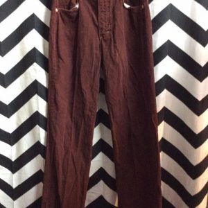 LITTLE RETRO CORDUROY PANTS SMALL FIT STRAIGHT LEG 1