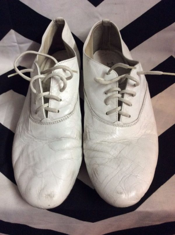 product details: LEATHER OXFORD LACE UP SHOES photo