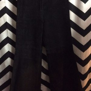 SUEDE LEATHER PANTS WIDE LEGS 1