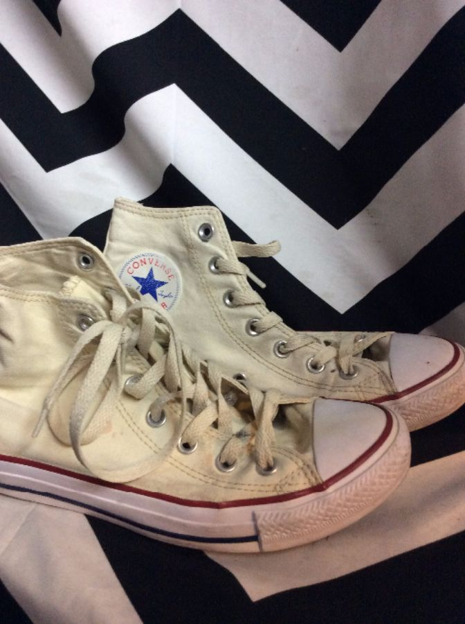 92765b242bda CONVERSE HIGH TOP SNEAKERS » Boardwalk Vintage
