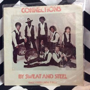 VINYL CONNECTIONS - BY SWEAT AND STEEL LP 1