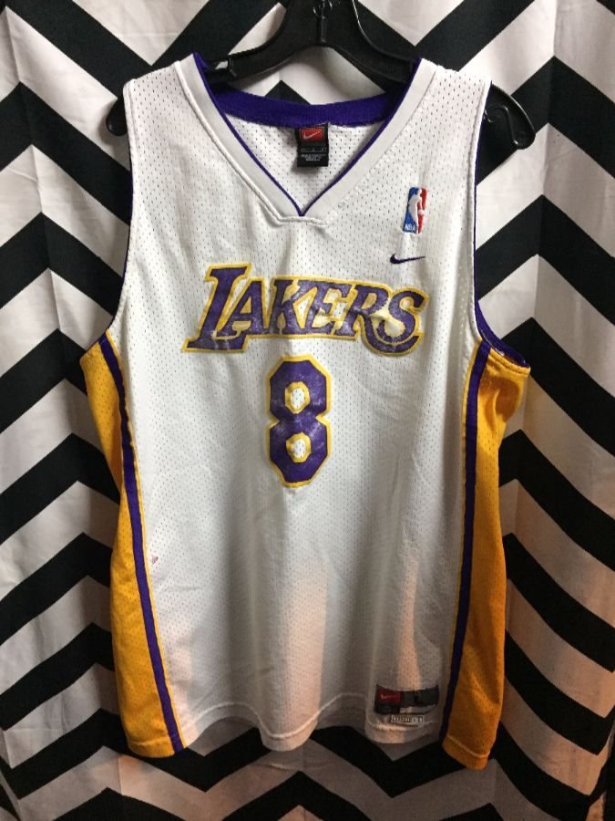 db92db034ce6 NIKE NBA BASKETBALL JERSEY LOS ANGELES LAKERS  8 KOBE BRYANT ...