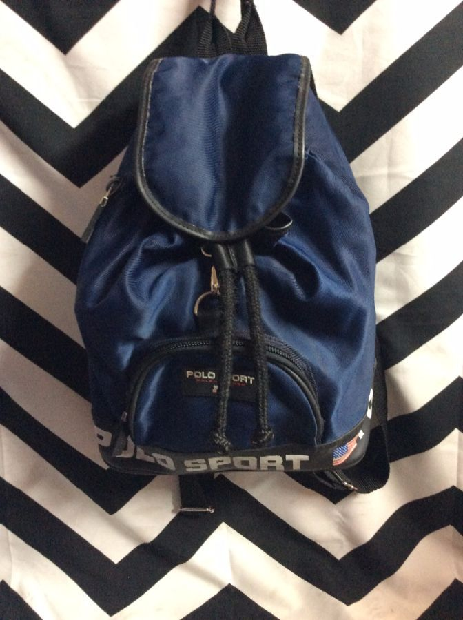 RALPH LAUREN POLO SPORT SMALL CANVAS BACKPACK » Boardwalk Vintage 118e1f1f28e26