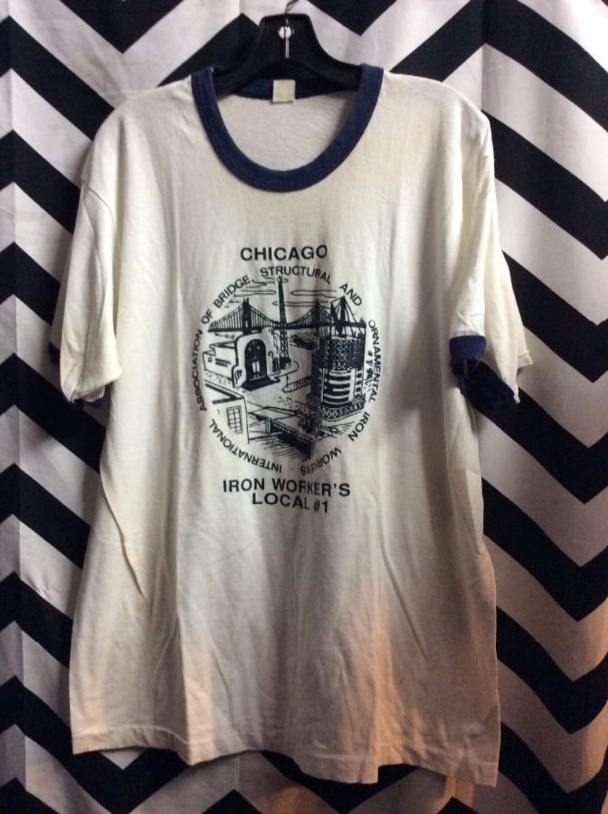 T-SHIRT CHICAGO IRON WORKERS LOCAL #1